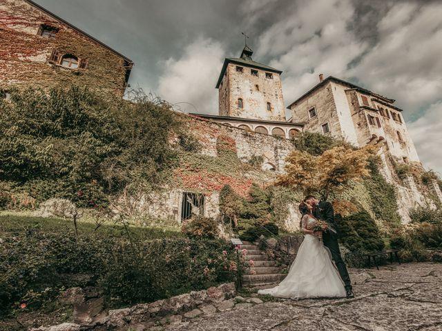 Il matrimonio di Stefano e Martina a Folgaria, Trento 64