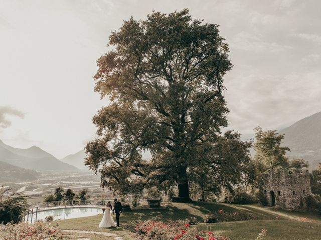 Il matrimonio di Stefano e Martina a Folgaria, Trento 68