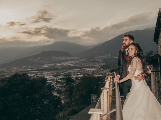 Il matrimonio di Stefano e Martina a Folgaria, Trento 74
