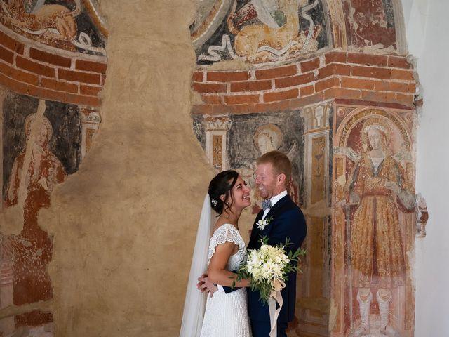 Il matrimonio di Alessio e Elena a Pombia, Novara 28