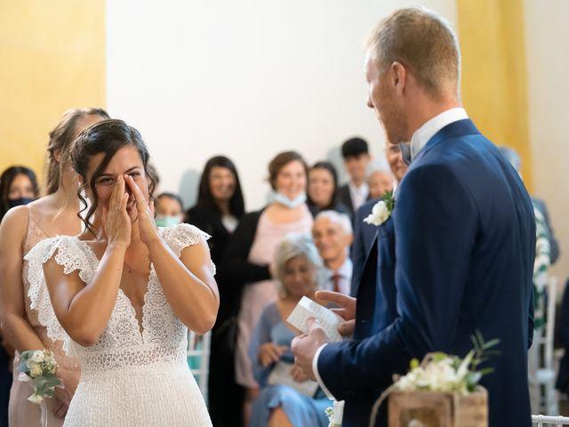 Il matrimonio di Alessio e Elena a Pombia, Novara 25