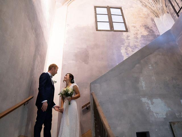 Il matrimonio di Alessio e Elena a Pombia, Novara 2