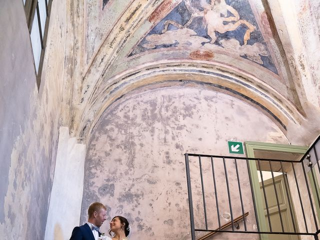 Il matrimonio di Alessio e Elena a Pombia, Novara 32