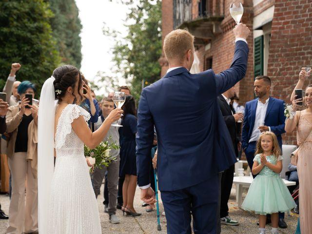 Il matrimonio di Alessio e Elena a Pombia, Novara 36