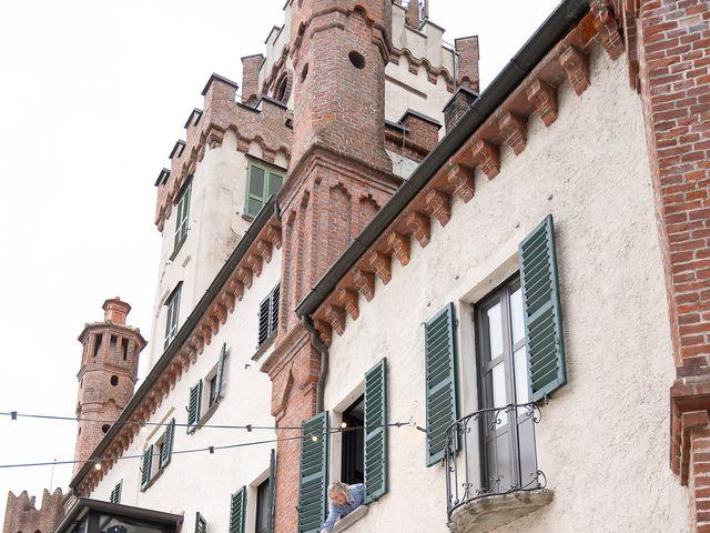 Il matrimonio di Alessio e Elena a Pombia, Novara 44