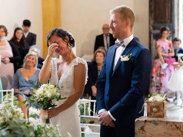 Il matrimonio di Alessio e Elena a Pombia, Novara 23