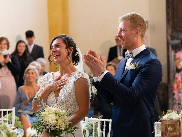 Il matrimonio di Alessio e Elena a Pombia, Novara 24