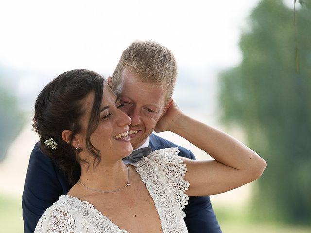 Il matrimonio di Alessio e Elena a Pombia, Novara 54