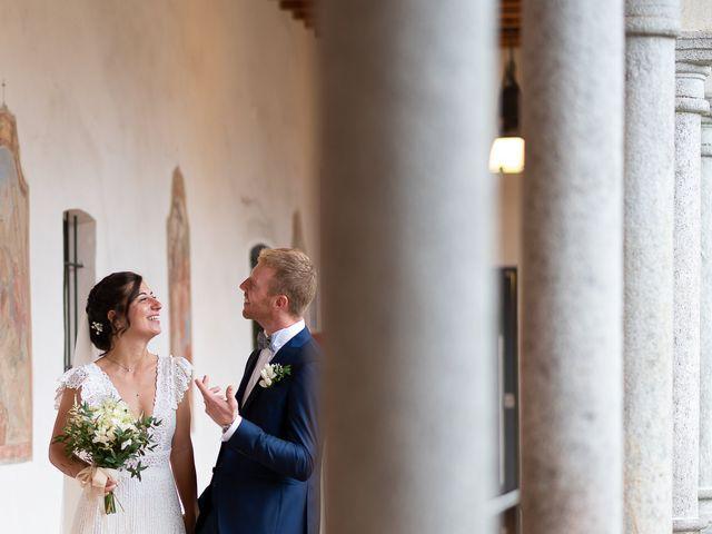 Il matrimonio di Alessio e Elena a Pombia, Novara 29