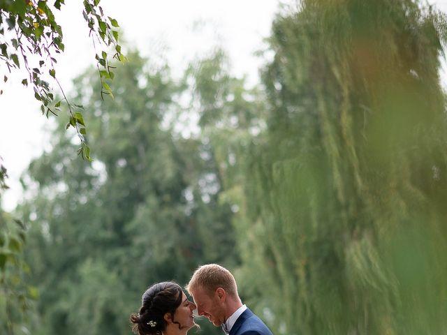 Il matrimonio di Alessio e Elena a Pombia, Novara 51