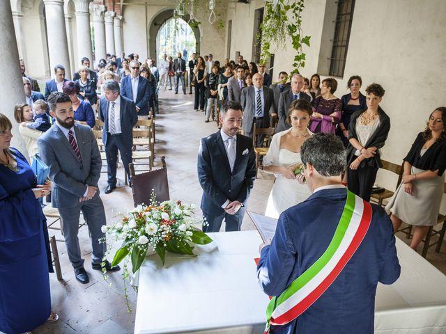 Il matrimonio di Fabio e Chiara a San Secondo Parmense, Parma 39