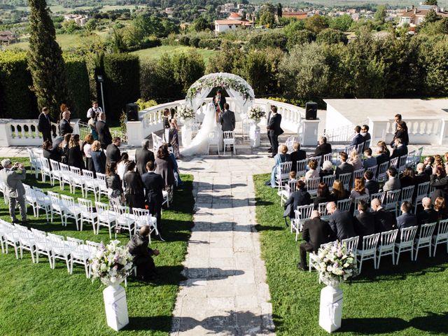 Il matrimonio di Nicholas e Maria Virgilia a Bassano Romano, Viterbo 1