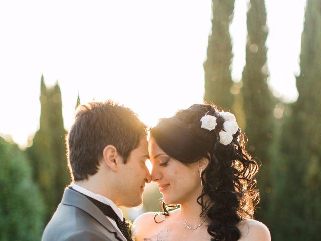 Il matrimonio di Nicholas e Maria Virgilia a Bassano Romano, Viterbo 5