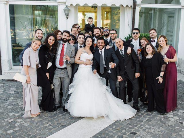 Il matrimonio di Nicholas e Maria Virgilia a Bassano Romano, Viterbo 12