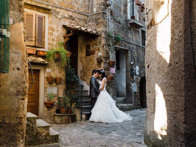 Matrimoni Bassano Romano : Reportage di nozze maria virgilia nicholas casina