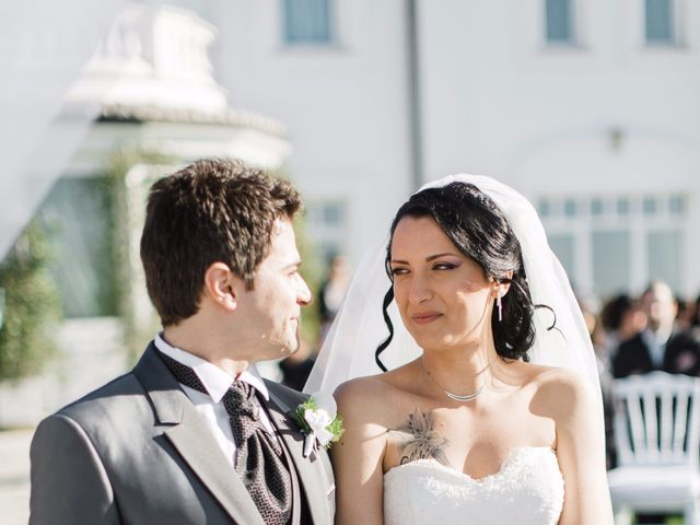 Il matrimonio di Nicholas e Maria Virgilia a Bassano Romano, Viterbo 14