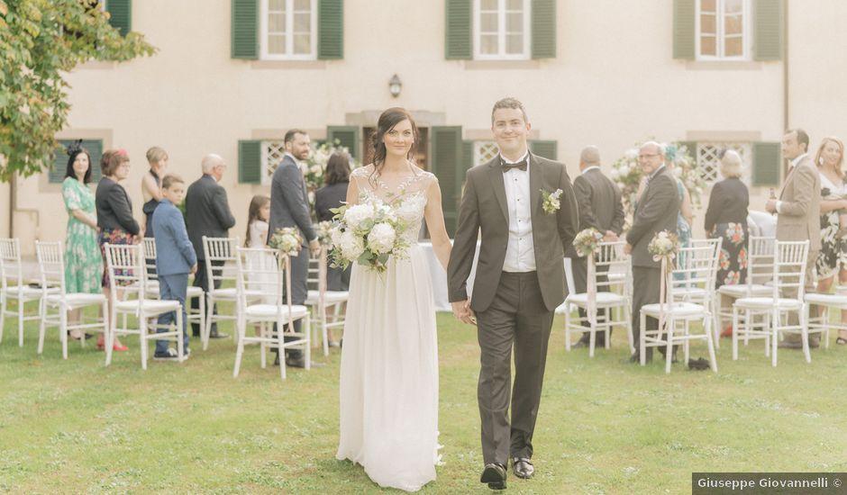 Il matrimonio di Natalie e David a Lucca, Lucca
