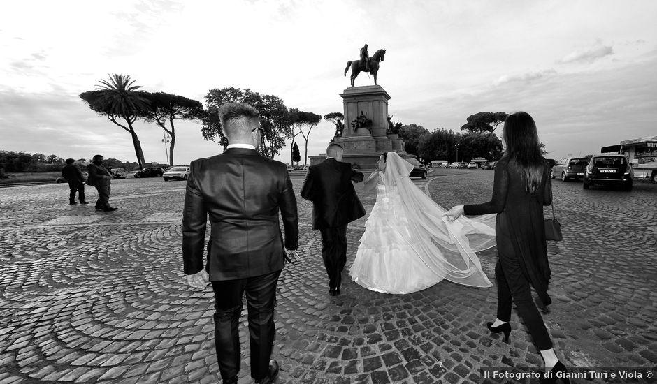 Il matrimonio di Giovanni e Maura a Roma, Roma