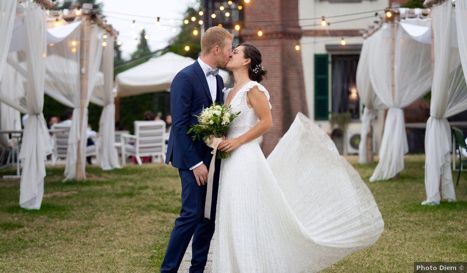 Il matrimonio di Alessio e Elena a Pombia, Novara