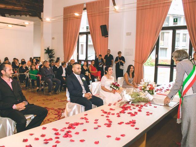 Il matrimonio di Abdul e Sara a Cesano Boscone, Milano 92