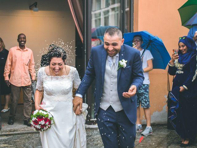 Il matrimonio di Abdul e Sara a Cesano Boscone, Milano 107