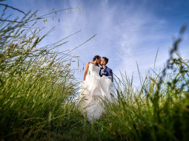 le nozze di Giulia e Michael