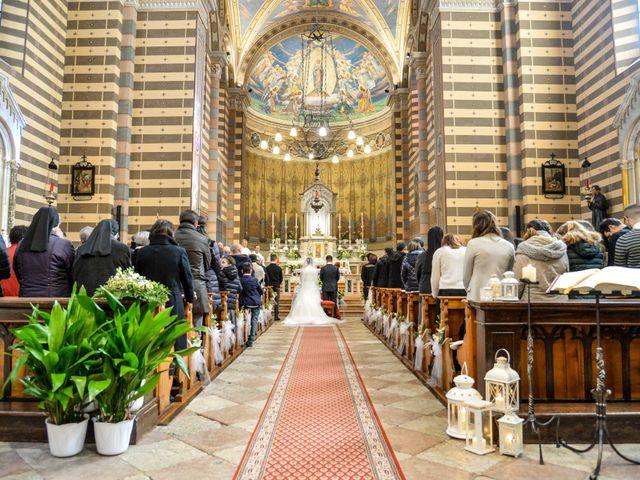 Il matrimonio di Simone e Laura a Dro, Trento 1
