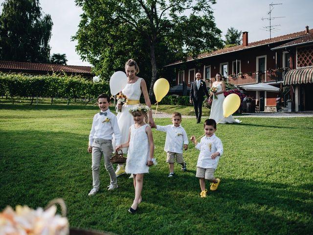 Il matrimonio di Daniele e Claudia a Golasecca, Varese 4