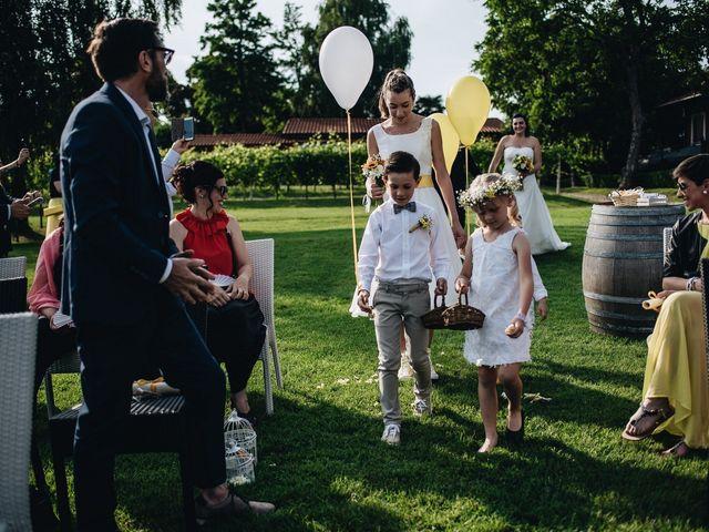 Il matrimonio di Daniele e Claudia a Golasecca, Varese 5