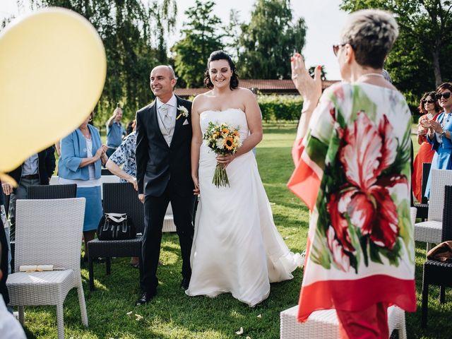 Il matrimonio di Daniele e Claudia a Golasecca, Varese 6