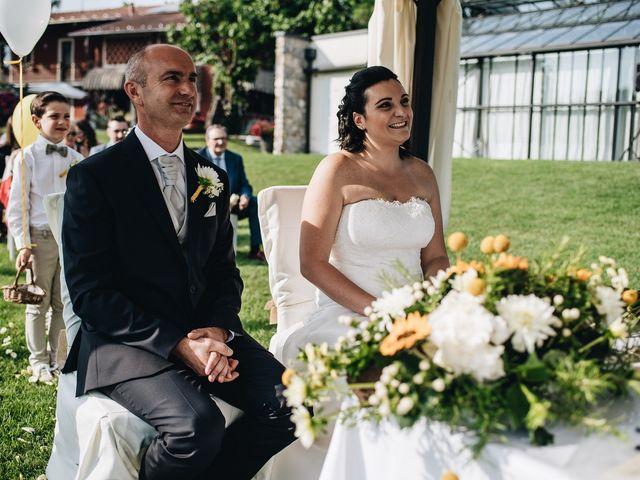 Il matrimonio di Daniele e Claudia a Golasecca, Varese 7