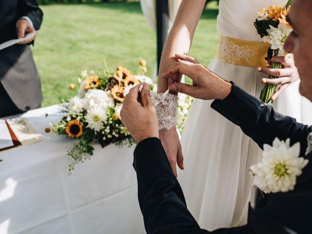 Il matrimonio di Daniele e Claudia a Golasecca, Varese 9