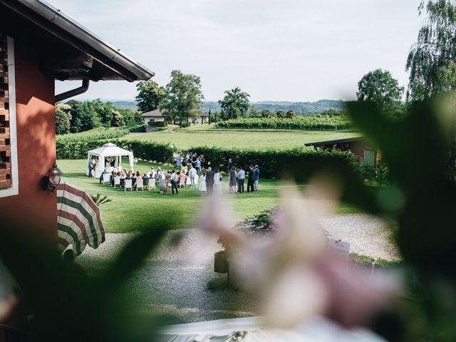 Il matrimonio di Daniele e Claudia a Golasecca, Varese 10
