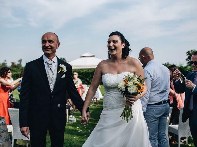 Il matrimonio di Daniele e Claudia a Golasecca, Varese 12