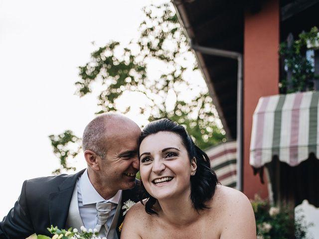 Il matrimonio di Daniele e Claudia a Golasecca, Varese 16