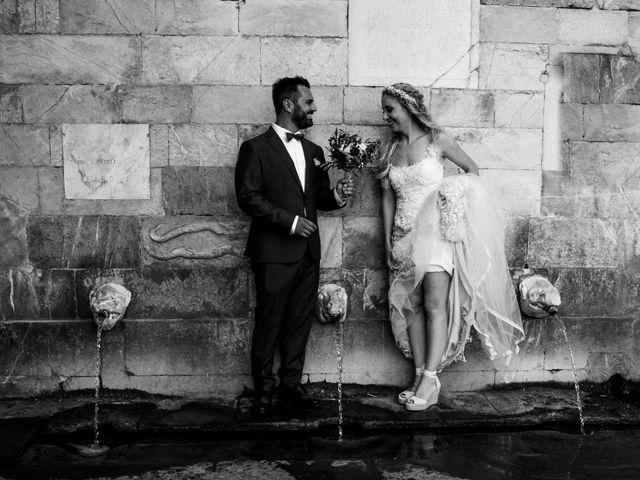le nozze di Chiara e Vadim