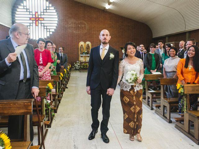 Il matrimonio di Eugenio e Monika a Cassano d'Adda, Milano 17