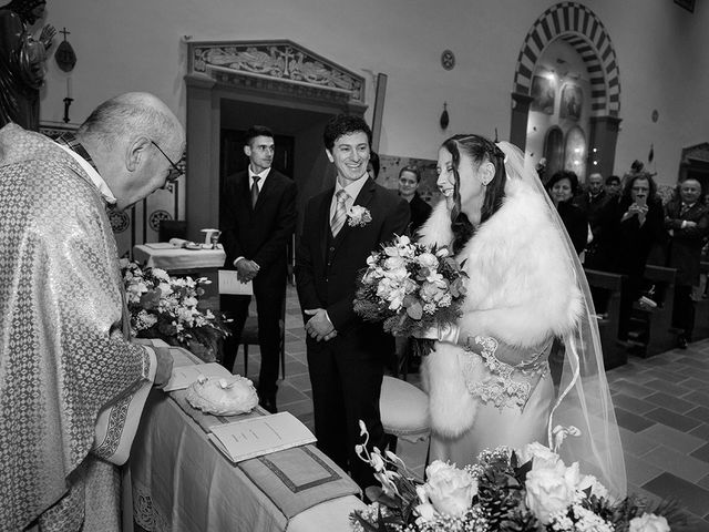 Il matrimonio di Emanuele e Corinna a Pistoia, Pistoia 20