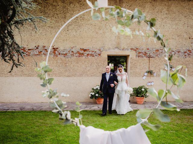 Il matrimonio di Diego e Sara a Vigone, Torino 41