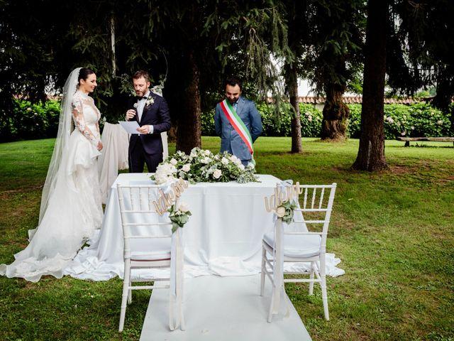 Il matrimonio di Diego e Sara a Vigone, Torino 47