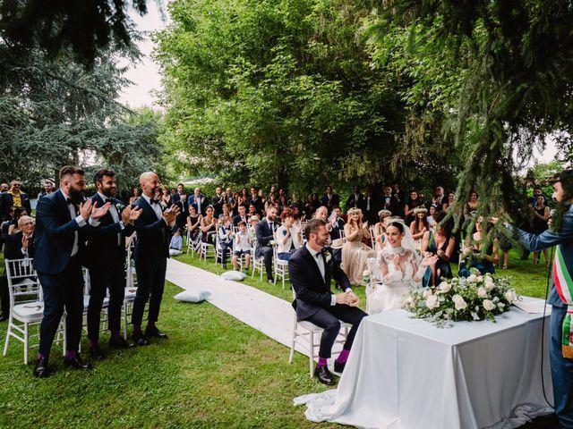 Il matrimonio di Diego e Sara a Vigone, Torino 52