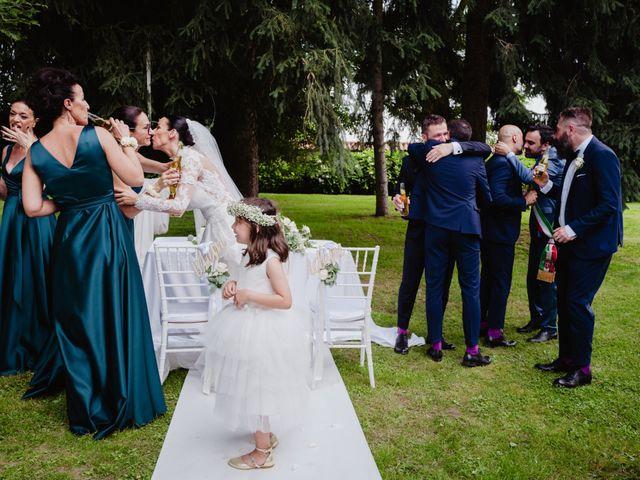 Il matrimonio di Diego e Sara a Vigone, Torino 54