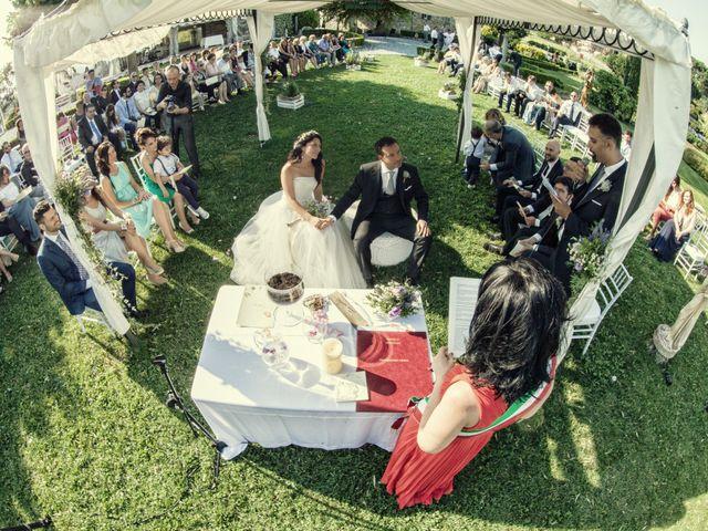 Il matrimonio di Alberto e Enza a Montorfano, Como 29