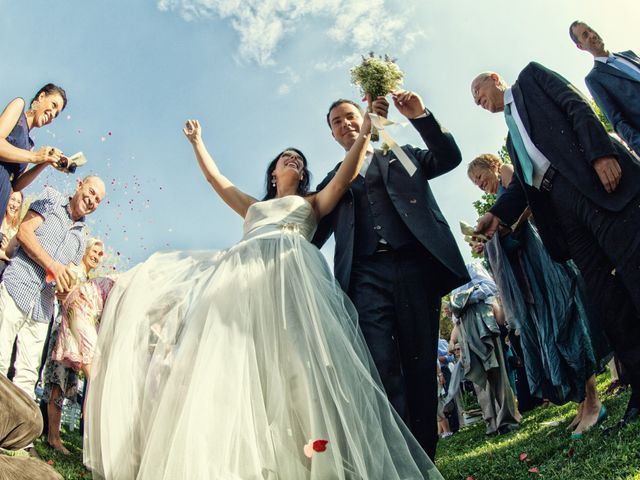 Il matrimonio di Alberto e Enza a Montorfano, Como 40