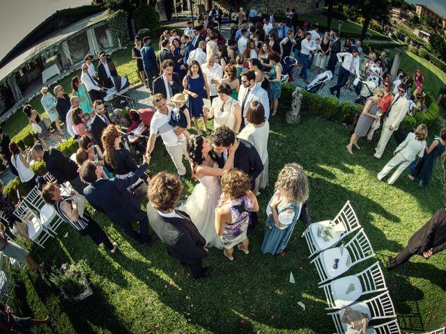 Il matrimonio di Alberto e Enza a Montorfano, Como 41