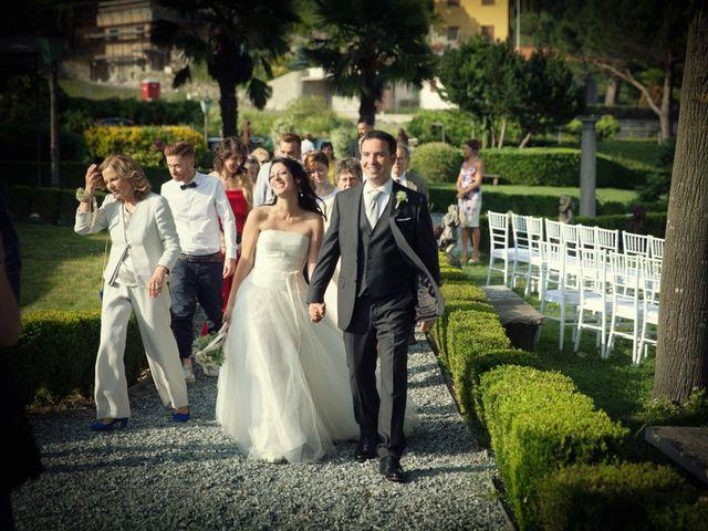 Il matrimonio di Alberto e Enza a Montorfano, Como 45