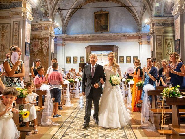 Il matrimonio di Paolo e Elena a Torre de' Picenardi, Cremona 19