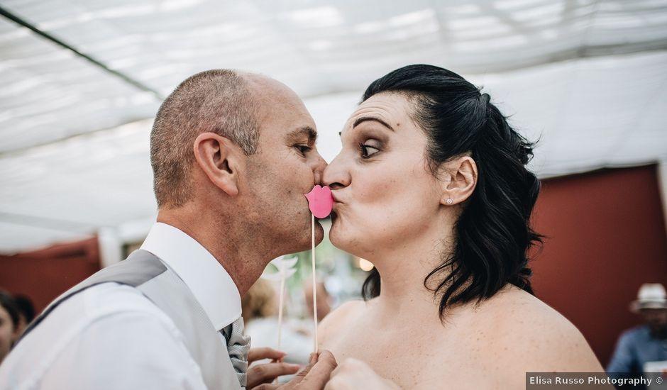 Il matrimonio di Daniele e Claudia a Golasecca, Varese