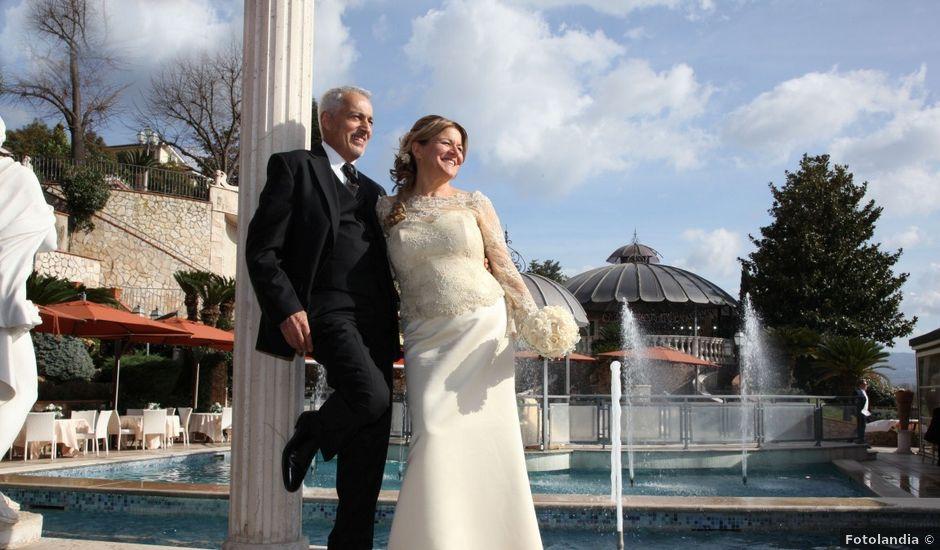 Il matrimonio di Mariantonia e Riccardo a Tivoli, Roma