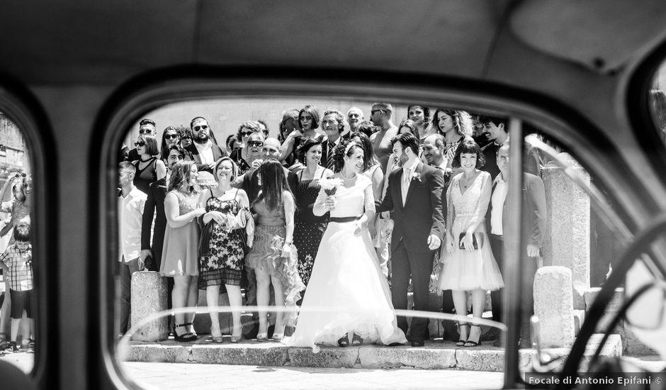 Il matrimonio di Marcello e Francesca a Cutrofiano, Lecce